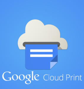 Онлайн-сервис Google Cloud Print