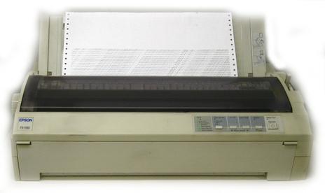 EPSON FX-1180+ IMPACT PRINTER DRIVER
