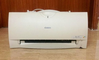 CANON BJC250 PRINTER DRIVERS FOR PC
