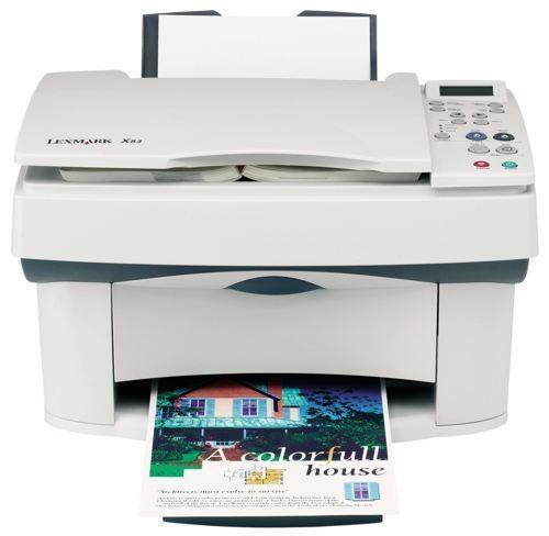 Lexmark X83 Printer Driver PC