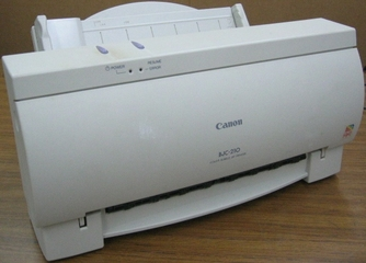 CANON BUBBLE-JET BJC-210 DRIVERS FOR MAC