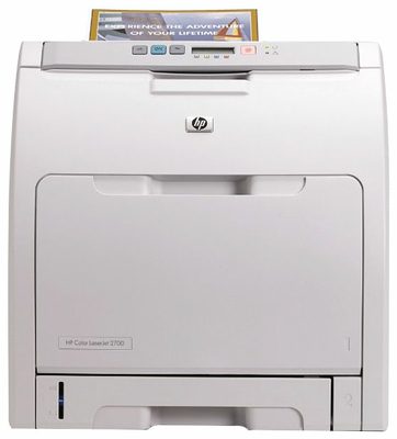 HP 2700N PRINTER DRIVERS UPDATE