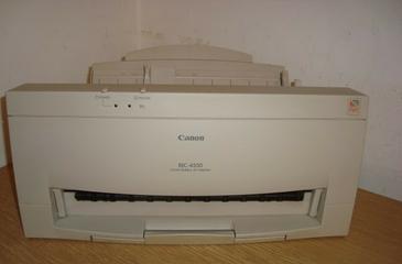 CANON BJC 4550 PRINTER DRIVER PC