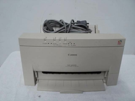 Canon BJC-4000 Printer Windows 7
