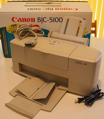 CANON BJC-5100 PRINTER 64BIT DRIVER DOWNLOAD