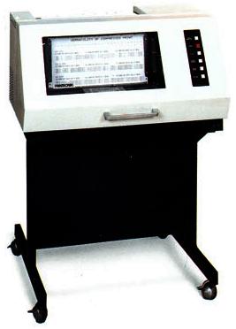 Её запатентовала, а впоследствии реализовала в... Рис. 1. Первый линейно-матричный принтер Printronix Р300.