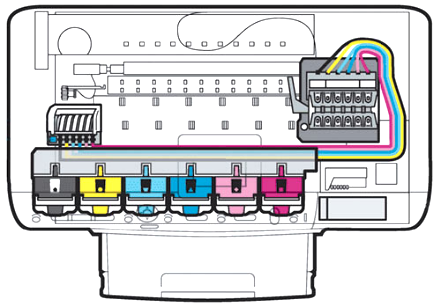 Устройство струйного принтера
