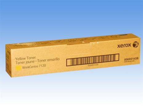 Картридж xerox 006r01462 для workcentre 7120/7220 yellow желтый 15000стр