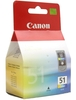 Ink Cartridge CANON CL-51 Color