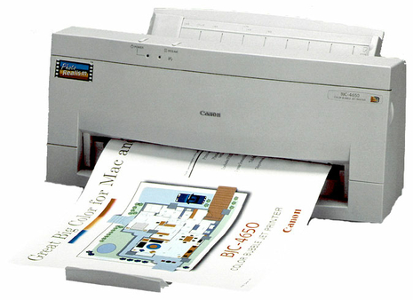 Canon bjc-4650 drivers download.