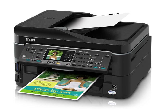 Принтер и МФУ Epson WorkForce 545 - описание, отзывы, цены в Украине.